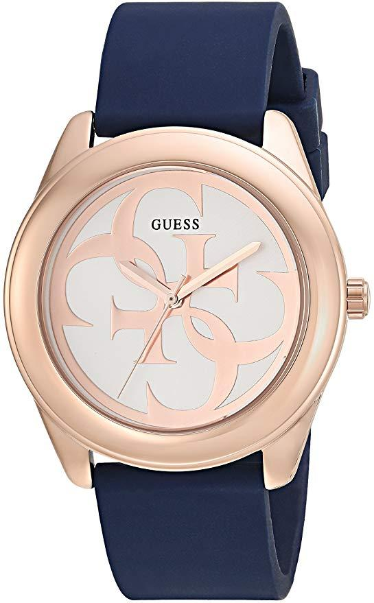 Guess Women's Stainless Steel Silicone Casual U0911L6 Watch