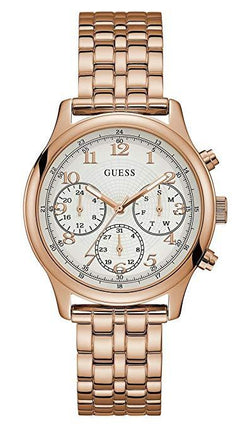 GUESS U1018L3 Women's Rose-Gold Stainless-Steel Japanese Quartz Fashion Watch