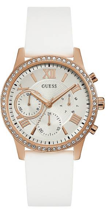 GUESS Rose Gold-Tone Multifunction U1135L1 Watch