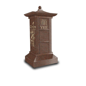 The Yee 3 Niche Columbarium -Asian Style