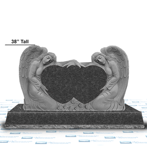Angel Double Heart - The Lunford -CIVIL GRAY