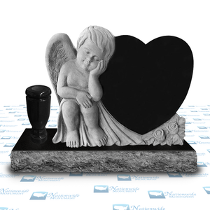 Monument - Angel Cherub Heart - The Aubrey