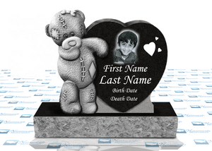 Teddy Bear Heart Monument