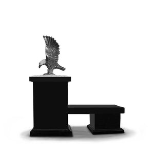 Bench - Eagle Pedestal - THE TORREY