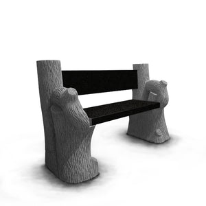 The Christopher - Tree Leg Park Bench