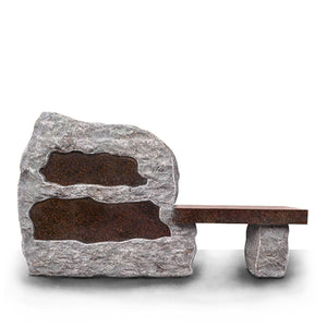 Bench - Natural Rock - THE DWAYNE