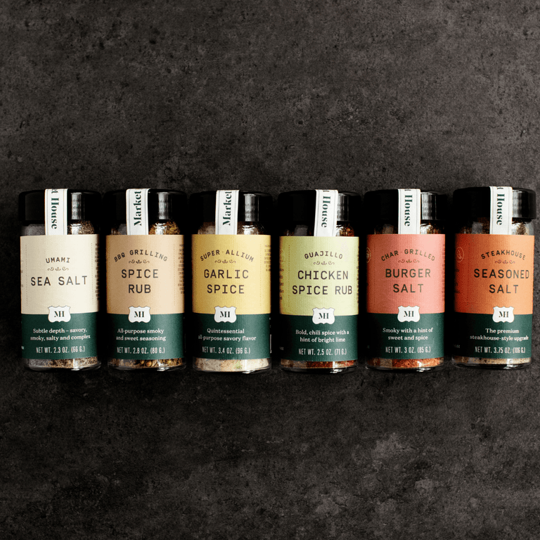 Market House Spice Collection (Set of 6)