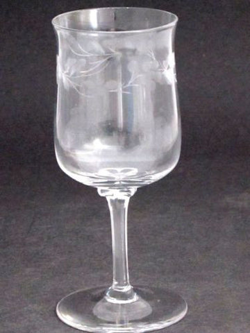 Lenox Hand cut wine glass Crystal replacement Made in USA Mt Pleasant PA - O'Rourke crystal awards & gifts abp cut glass