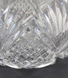 American Brilliant Period Cut Glass Pitcher  Antique - O'Rourke crystal awards & gifts abp cut glass