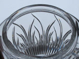 Cut Glass Saratoga candy jar  Lenox USA , bowl /vase /candle - O'Rourke crystal awards & gifts abp cut glass