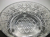 American Brilliant Period Hand Cut Glass Antique Ferner in Harvard Pattern - O'Rourke crystal awards & gifts abp cut glass