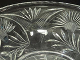 "Hand cut glass bowl 12"" - O'Rourke crystal awards & gifts abp cut glass"