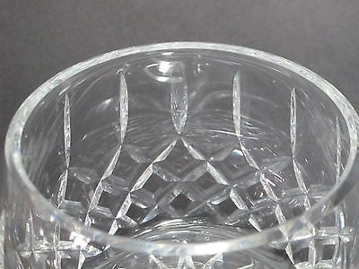 Hand Cut Glass Bowl 24 Lead Crystal Great Gift Or Award Customize Ha O Rourke Crystal Awards