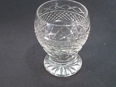 Hand Cut glass shot glass - O'Rourke crystal awards & gifts abp cut glass