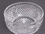 Signed  Webb Hand Cut Glass  bowl english blown blank - O'Rourke crystal awards & gifts abp cut glass