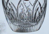 Cut glass Crystal candy jar Saratoga  Made in USA Mt Pleasant PA - O'Rourke crystal awards & gifts abp cut glass