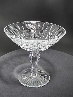 Signed Lenox hand cut compote 24% lead Crystal - O'Rourke crystal awards & gifts abp cut glass