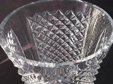 Hand cut glass vase, 24% lead crystal Great gift or award customize - O'Rourke crystal awards & gifts abp cut glass