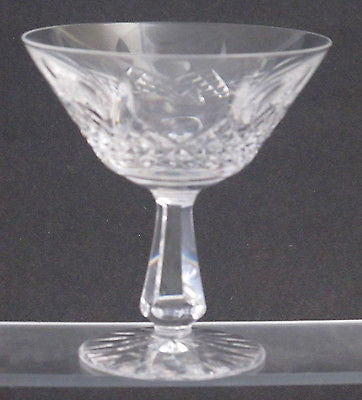 Signed Waterford Hand Cut glass KENMARE dessert champagne - O'Rourke crystal awards & gifts abp cut glass