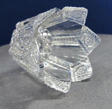 American Brilliant Period Cut Glass Tuetonic want to be votive Hawkes RECYCLE