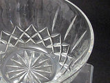 Hand cut lead  Crystal bowl, Can be customized glass - O'Rourke crystal awards & gifts abp cut glass