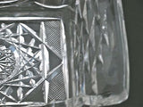 American Brilliant Period hand Cut Glass rectangle tray - O'Rourke crystal awards & gifts abp cut glass