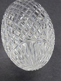 Hand cut glass football,  Can be customized Made in USA , Can't be deflated - O'Rourke crystal awards & gifts abp cut glass
