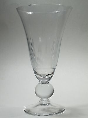 Val st Lambert Hand Cut glass beverage  goblet Sylvia - O'Rourke crystal awards & gifts abp cut glass