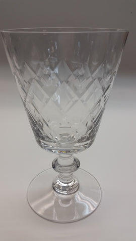 Heisey Maryland cut glass goblet stemware - O'Rourke crystal awards & gifts abp cut glass