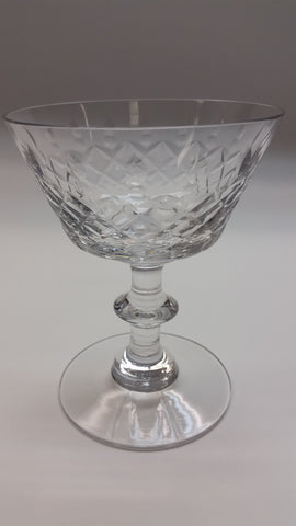 Heisey Maryland cut glass Dessert  stemware - O'Rourke crystal awards & gifts abp cut glass