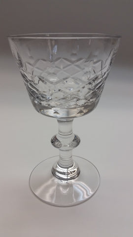 Heisey Maryland cut glass SHERBERT stemware - O'Rourke crystal awards & gifts abp cut glass