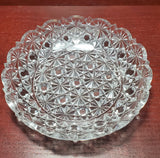 ABP cut glass Russian pattern dish American