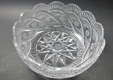 Signed Waterford apprentice bowl Hand cut in Ireland - O'Rourke crystal awards & gifts abp cut glass