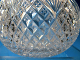 Strawberry diamond and fan Carafe American Brilliant Period hand Cut Glass - O'Rourke crystal awards & gifts abp cut glass