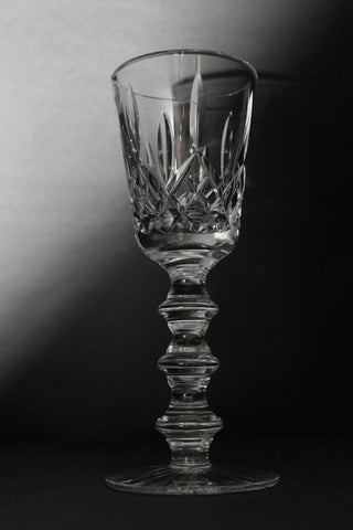 Hand Cut Crystal Chalice Signed O'Rourke - O'Rourke crystal awards & gifts abp cut glass