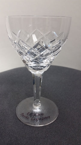 Eugenia Royal Leerdam wine glasses - O'Rourke crystal awards & gifts abp cut glass