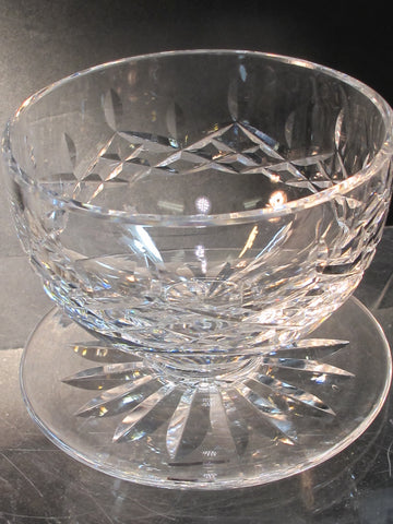 Signed Waterford CUT GLASS lismore shrimp crystal Ireland