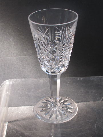 Signed Waterford CUT GLASS Clare Sherry crystal Ireland