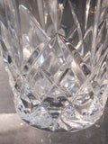 Waterford cut glass Lismore loving heart Vase