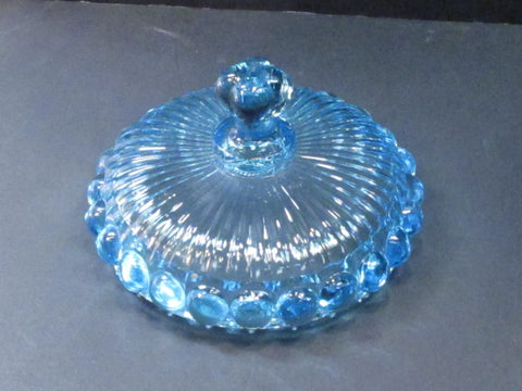 Glass jar lid Replacement blue