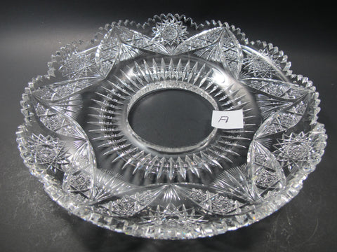 "WANTED, WILL PAY $1000.00 FOR 12"" TRAY - O'Rourke crystal awards & gifts abp cut glass"