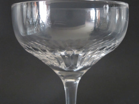 Lenox Cut glass Radiance champagne / dessert  Crystal  Made in USA replacement - O'Rourke crystal awards & gifts abp cut glass