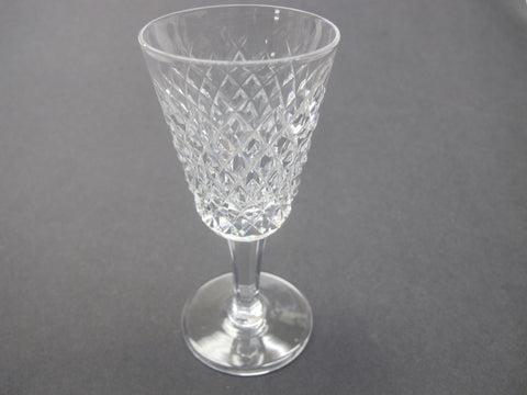 Alana Signed Waterford CUT GLASS sherry stem crystal Ireland - O'Rourke crystal awards & gifts abp cut glass