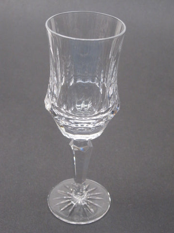 Old Galway crystal CLARET hand cut glass Ireland - O'Rourke crystal awards & gifts abp cut glass