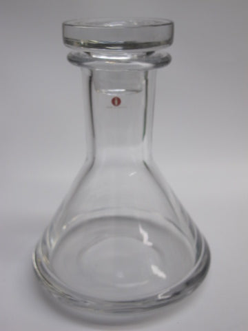 Finland Glass signed TW Decanter - O'Rourke crystal awards & gifts abp cut glass
