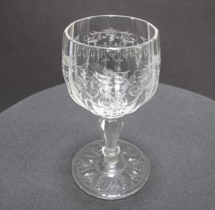 Signed Clear Glass Stemware Engraved - O'Rourke crystal awards & gifts abp cut glass