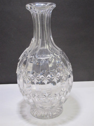 Cut glass carafe  132
