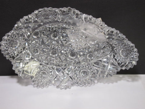 ABP cut glass Hunts Royal tray C20