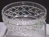 Signed Waterford CRYSTAL bowl pre owned C21