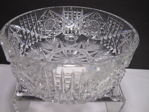 American Brilliant Period Hand Cut Glass Antique Ferner C28